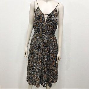 Volcom sundress geometric pattern M 12 dress